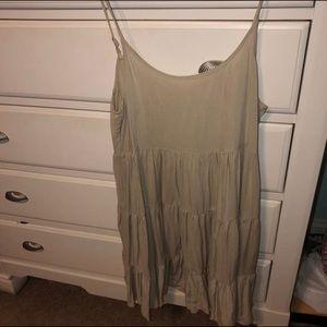 Never Worn Altar'd State Dress Tan